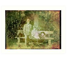 From the past Art Print