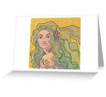 Tattooed Mermaid 12 Greeting Card