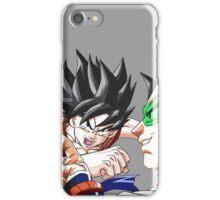 DBZ - Goku VS Radditz iPhone Case/Skin
