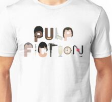 Pulp Fiction Characters Unisex T-Shirt
