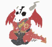 Chibi Pyro Red Kids Clothes