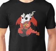 Chibi Pyro Red Unisex T-Shirt