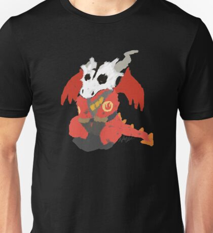 Chibi Pyro Red Unisex T-Shirt