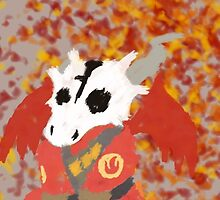 Chibi Pyro Red by ghostanjo