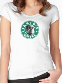 Ianto's Coffee Women's Fitted Scoop T-Shirt