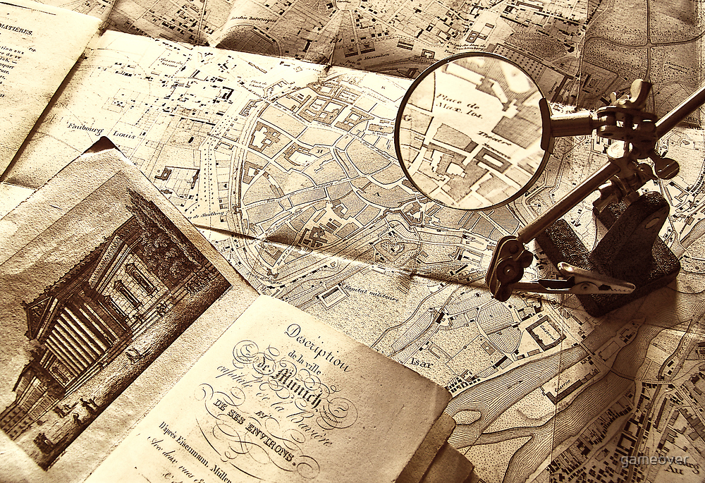 An old map by Luisa Fumi