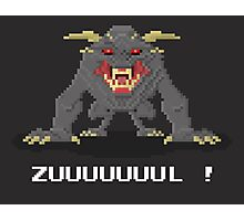 Zul - Ghostbusters Pixel Art Photographic Print