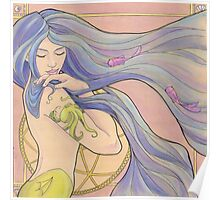 Tattooed Mermaid 1 Poster