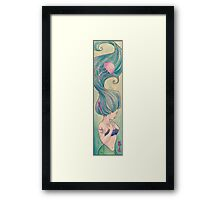 Tattooed Mermaid 10 Framed Print