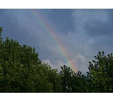 Storms and Rainbows Photographic Print