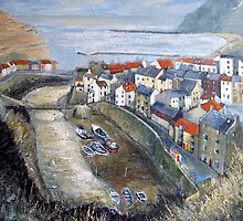 Classic Staithes by Sue Nichol