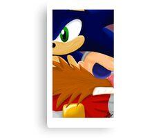 Sonic Eggman  Canvas Print