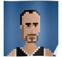 Manu Ginóbili - San Antonio Spurs Poster