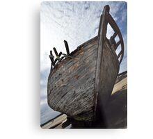 Ship Wrecked Metal Print