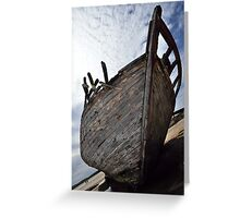 Ship Wrecked Greeting Card