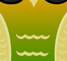 Cool Mango Owl Sticker