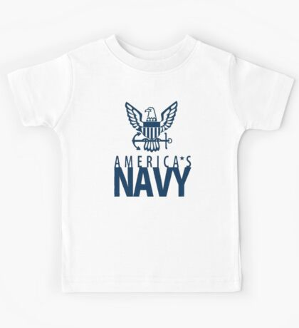 America's Navy Logo Kids Tee