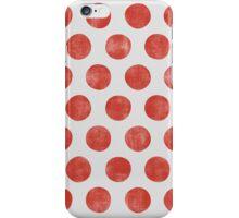 Sweet Red White Polka Dot iPhone Case/Skin