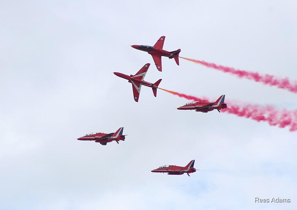 Red Arrows by Rees Adams