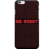 Mr.Robot iPhone Case/Skin