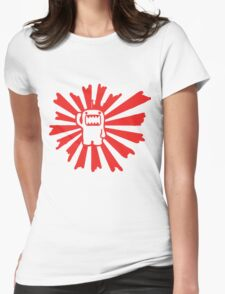 rising sun domo Womens Fitted T-Shirt