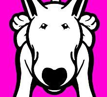 Updated English Bull Terrier Sprawl by Sookiesooker