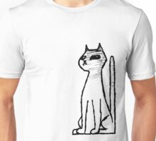 Pointy Cat Unisex T-Shirt