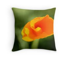 Curling II Throw Pillow