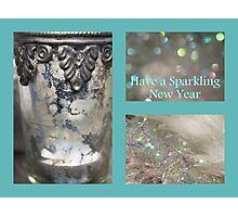 Sparkling New Year - JUSTART © Photographic Print