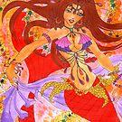 Sexy Bellydancing Mermaid Ruby by Elisa Chong
