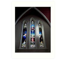 Window from Church of the Assumption Sligo Art Print