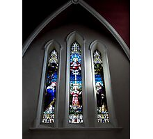 Window from Church of the Assumption Sligo Photographic Print
