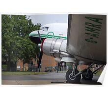 Douglas DC 3 Dakota Poster