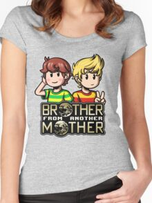 Another MOTHER - Travis & Lucas Women's Fitted Scoop T-Shirt