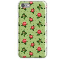 Red Rose Shabby Chic Design iPhone Case/Skin