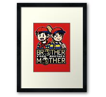 Another MOTHER - Ness & Ninten Framed Print