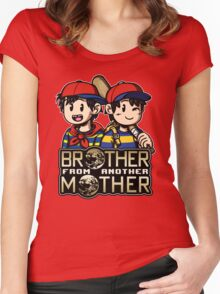 Another MOTHER - Ness & Ninten Women's Fitted Scoop T-Shirt