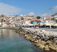 Parga Rocks by Karen Martin