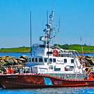 Canadian Coast Guard Cutter Westport by David Davies
