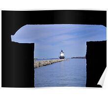 Spring Point Lighthouse  Portland, Maine Poster