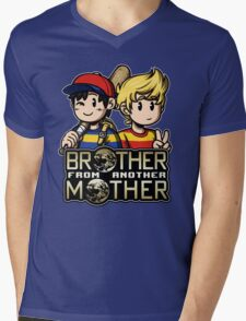 Another MOTHER - Ness & Lucas Mens V-Neck T-Shirt
