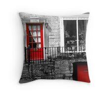 Derbyshire Doors Throw Pillow
