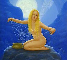 The Cobweb collector by John Silver