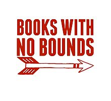 BOOKS WITH NO BOUNDS Photographic Print