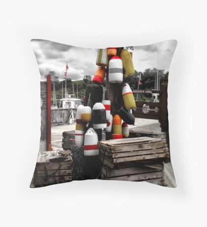 What Fish Tales are Made From Throw Pillow