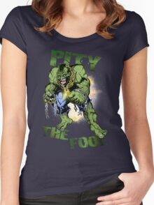FOOL SMASHER! Women's Fitted Scoop T-Shirt