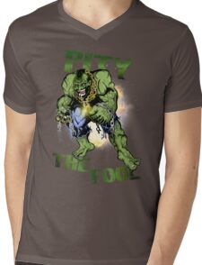 FOOL SMASHER! Mens V-Neck T-Shirt