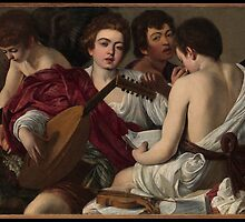 Caravaggio - The Musicians - BigArt by BigArt