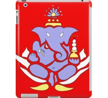 Ganesh: Overcome Your Obstacles iPad Case/Skin