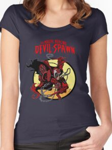 The Mouth Mercing Devil-Spawn Women's Fitted Scoop T-Shirt